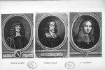 Planche 12. Francis Glisson / Thomas Willis / R. Vieussens - Some apostles of physiology