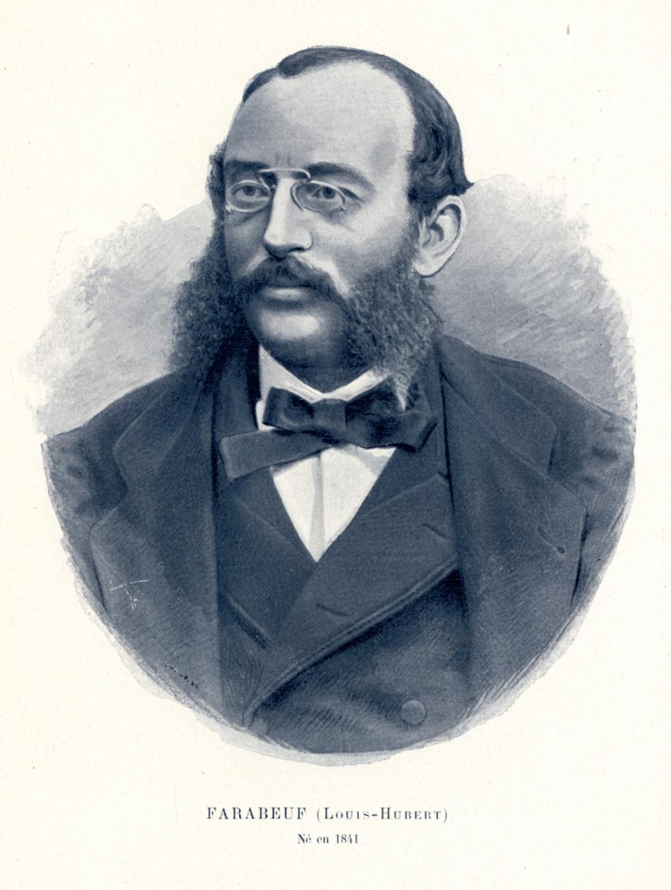 Farabeuf Louis-Hubert - Centenaire de la Faculté de médecine de Paris (1794-1894) - Médecins. 19e siècle (France) - med09858x02x0052