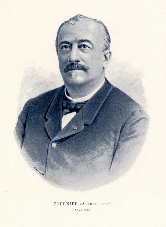 Fournier Alfred-Jean - Centenaire de la Faculté de médecine de Paris (1794-1894) - Médecins. 19e siècle (France) - med09858x02x0055