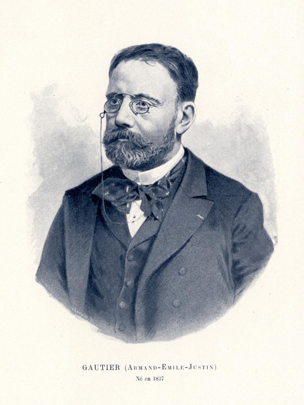 Gautier Armand-Emile-Justin - Centenaire de la Faculté de médecine de Paris (1794-1894) - Médecins. 19e siècle (France) - med09858x02x0057