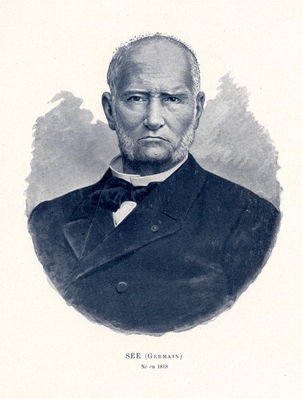 Sée Germain - Centenaire de la Faculté de médecine de Paris (1794-1894) - Médecins. 19e siècle (France) - med09858x02x0121