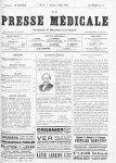 Brown-Séquard (1817-1897) - La Presse médicale - [Volume d'annexes]