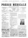 A. Proust - La Presse médicale - [Volume d'annexes]