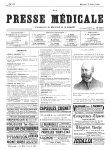 R. du Castel - La Presse médicale - [Volume d'annexes]