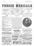 L.H. Farabeuf - La Presse médicale - [Volume d'annexes]