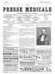 Professeur Raymond - La Presse médicale - [Volume d'annexes]