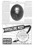 Fig. 2. Alibert, d'après un pastel fait en 1835, par Mlle Théodelin de Aubauché - La Presse médicale [...]