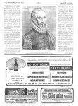 Portrait d'Ambroise Paré à l'âge de 72 ans. Extrait du Discours de la Mumie, de la Licorne, etc. (éd [...]