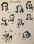 Trousseau: H. Loutsch; Q. Limasset; P. Tournant; Pierre Guillain; Roquejeoffre; L. Hamon; Yves Boqui [...]