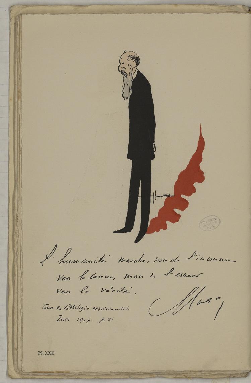 M. Roger (Henri) - L'Académie de médecine : album, 1re série - Médecins. Académie de médecine (Paris). Autographes. Caricatures. France. 20e siècle - med10947Bx01x11x0026