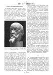Fig. 1. - Buste de Paul Signac, par les frères Martel - Paris médical : la semaine du clinicien
