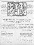 L'Orchestre de la Danse Macabre de Troyes (Dessin sur bois du XVe siècle) - Aesculape
