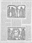 Une des planches de la Grande Danse macabre de Guyot Marchand : le Clerc, l'Hermite / Une des planch [...]