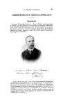 Brouardel - La Chronique médicale : revue bi-mensuelle de médecine historique, littéraire & anecdoti [...]