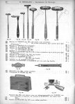 Marteau de Vernon, marteau de Traube, marteau de Trousseau, marteau de Babinsky, marteau de Dejerine [...]