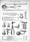 Sifflet de Galton, monocorde de Struycken / Stylet, porte coton, dito, verre [...] éprouvette à pied [...]