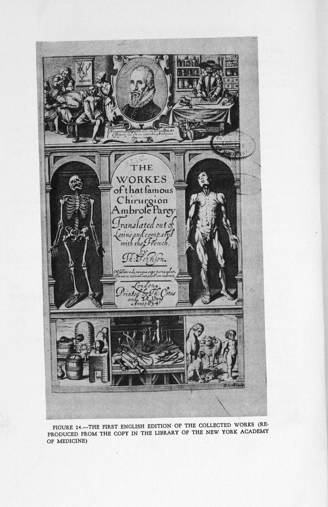 Fig. 24. The first English Edition of the Collected Works - A bibliography of the works of Ambroise  [...] -  - med142259x0221