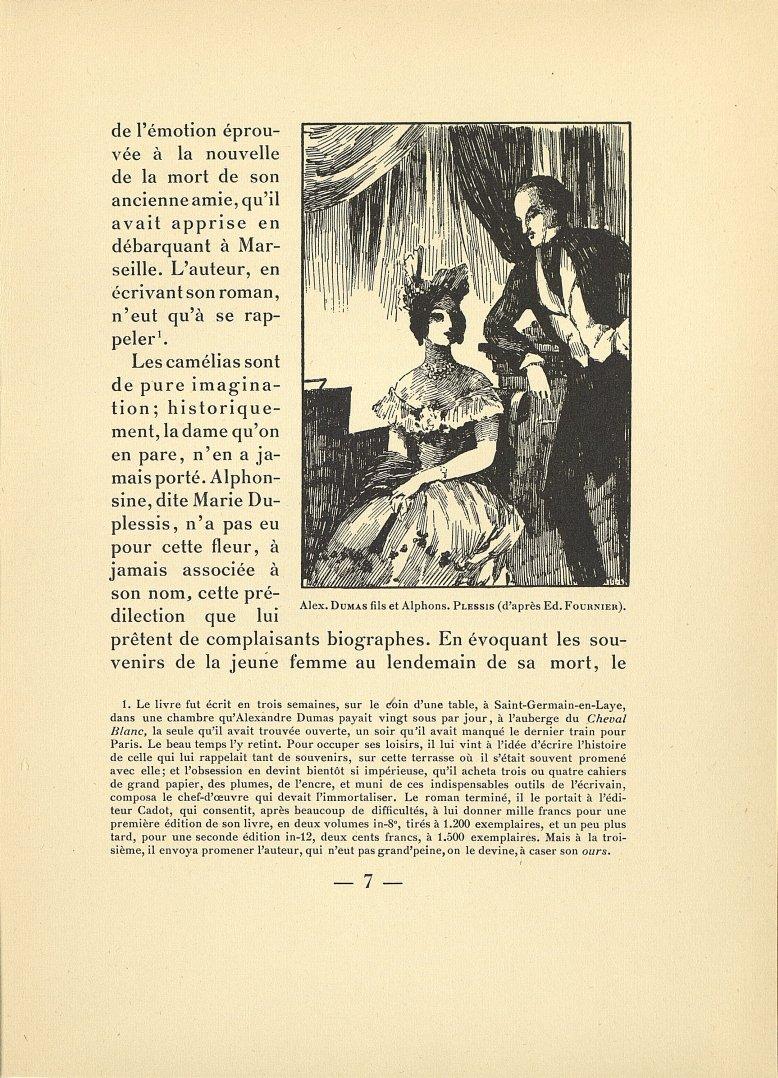 Alex. Dumas fils et Alphons. Plessis (d'après Ed. Fournier) - Poitrinaires et grandes amoureuses : L [...] -  - med166373x01x0011