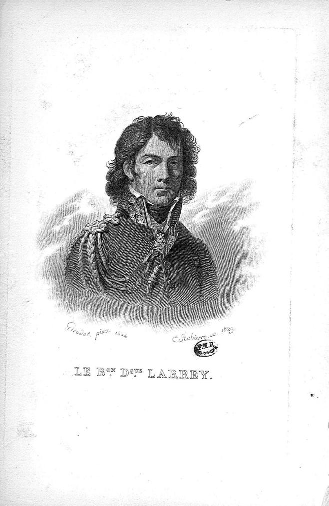 Le Baron Dominique Larrey - Médecins, chirurgiens. Révolution et Empire. 18e siècle, 19e siècle (France) - med22643x0004