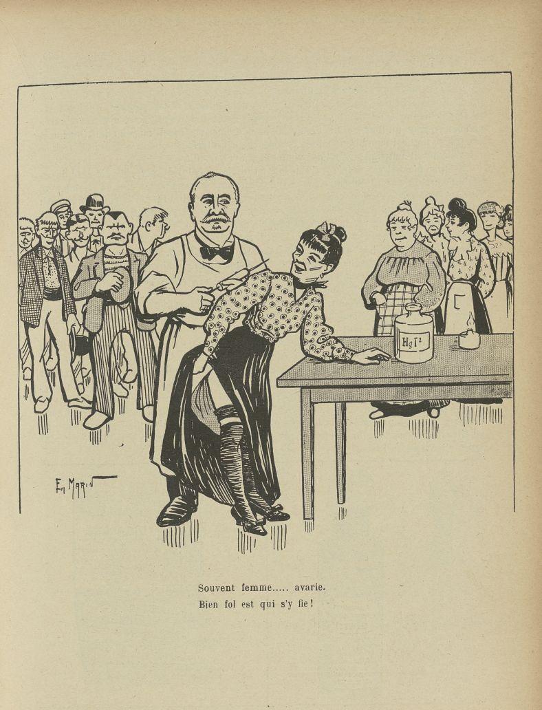 [Caricature : Professeur Fournier] - L'Album du Rictus, journal humoristique mensuel : première séri [...] -  - med24432x01x0027
