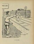 [Caricature : Professeur Félix Guyon] - L'Album du Rictus, journal humoristique mensuel : première s [...]
