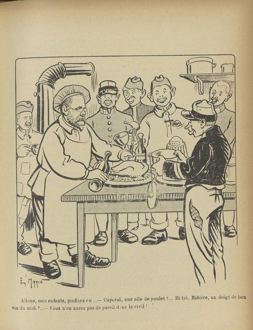 [Caricature : Professeur Armand Gautier] - L'Album du Rictus, journal humoristique mensuel : deuxièm [...] -  - med24432x02x0009