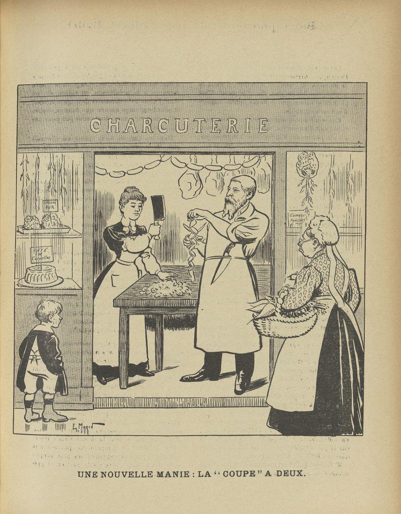 [Caricature : Professeur Déjerine] - L'Album du Rictus, journal humoristique mensuel : deuxième séri [...] -  - med24432x02x0017
