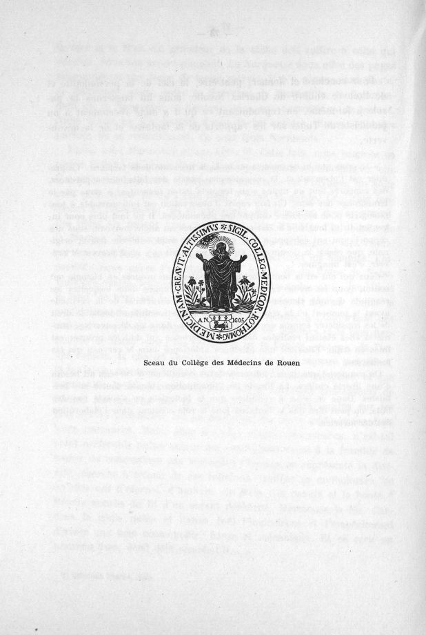 Sceau du Collège des Médecins de Rouen - En l'honneur du 25e anniversaire de direction de l'Institut [...] -  - med28469x0078