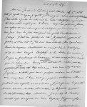 [Fac-similé d'une lettre manuscrite de Bretonneau à Trousseau du 16 octobre 1825, p. 1] - Bretonneau [...]