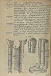 Les cassole - L'Oeconomie chirurgicale, pour le restablissement des parties molles du corps humain.  [...] - Appareils et instruments. Attelles. Membres inférieurs (fractures). 17e siècle - med5207Ax0580