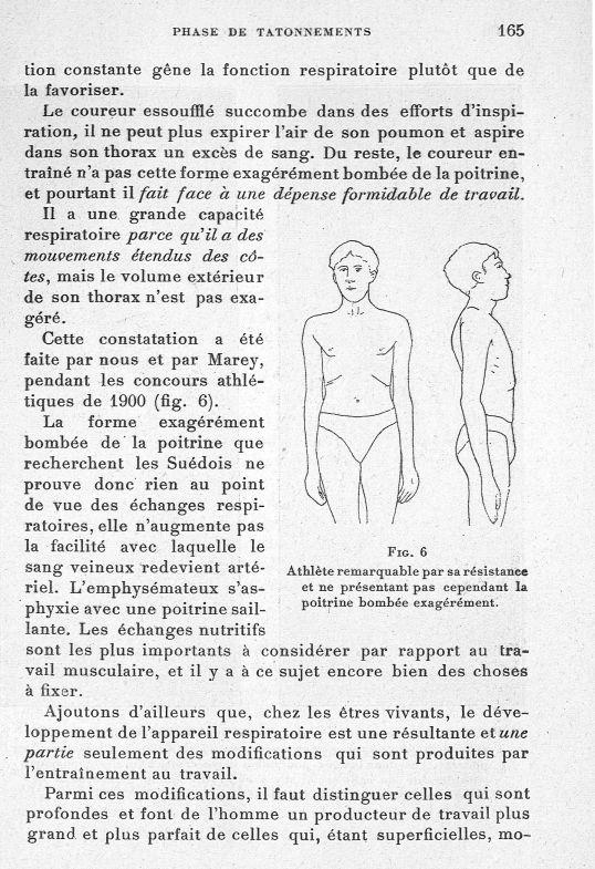 Fig. 6. Athlète remarquable par sa résistance et ne présentant pas cependant la poitrine bombée exag [...] -  - med65254x0165