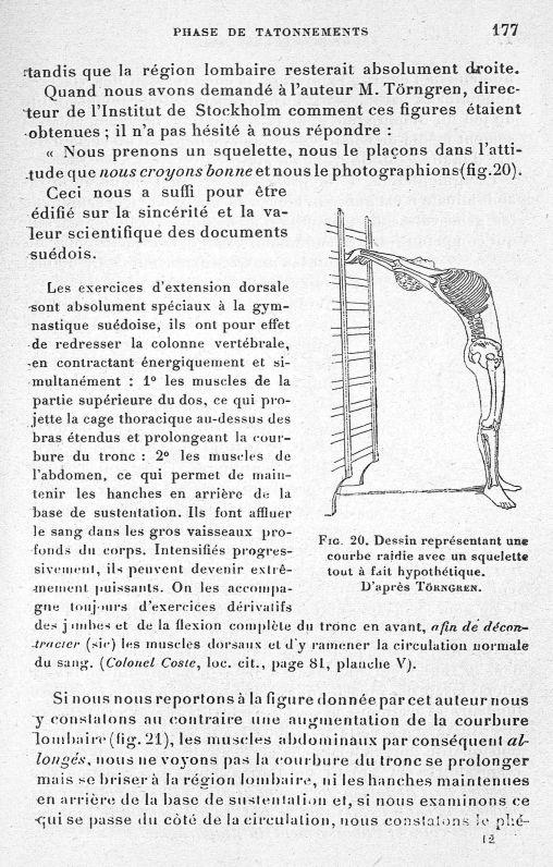 Fig. 20. Dessin représentant une courbe raidie avec squelette tout à fait hypothétique. D'après Törn [...] -  - med65254x0177