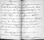 Lettre autographe de Trousseau [reproduction] - Nos médecins contemporains, par Paul Labarthe... Vel [...]