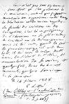 Autographe de Littré, février 1868 [reproduction] - Nos médecins contemporains, par Paul Labarthe... [...]