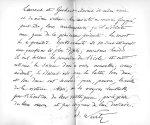 Autographe d'Adolphe Wurtz [reproduction] - Nos médecins contemporains, par Paul Labarthe... Velpeau [...]
