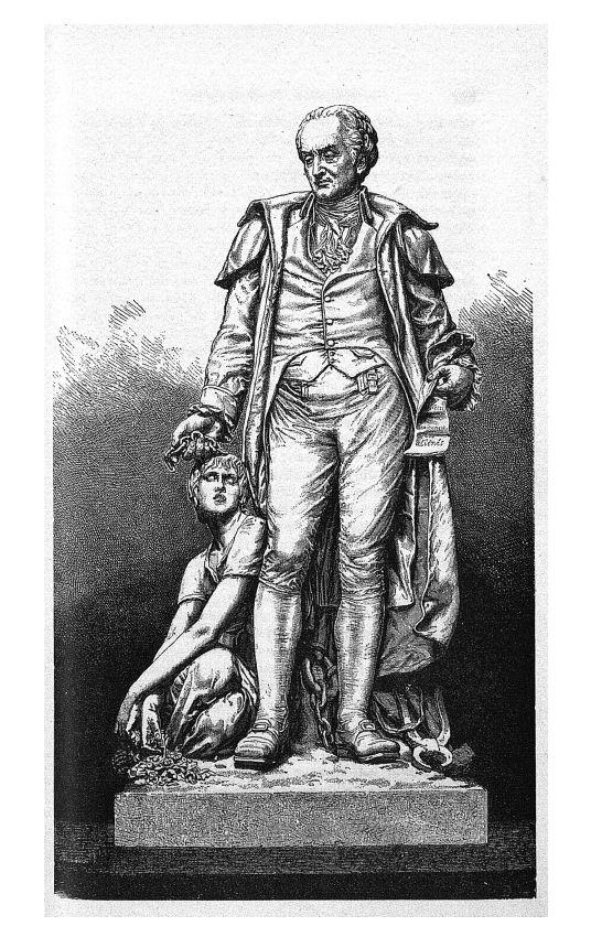 [Statue de Philippe Pinel] - Annales médico-psychologiques - Médecins. 18e siècle, 19e siècle (France) - med90152x1885x02x0263