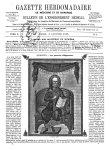 Hippocrate - Gazette hebdomadaire de médecine et de chirurgie