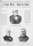 M. le Dr Théophile Roussel / M. le Pr Cornil / M. le Pr Lannelongue - Le progrès médical  : journal  [...]