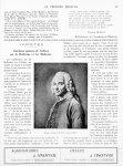 Voltaire, d'après le Pastel de Lenoir (1764) - Le progrès médical
