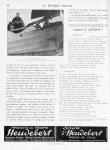 En avion, Villacoublay, 1923. A gauche, le Professeur Ch. Richet; à droite, Louis Bréguet - Le progr [...]