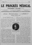 J. D. Larrey. Bibliothèque nationale. Estampes - Le progrès médical