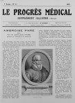 Portrait d'A. Paré - Le progrès médical