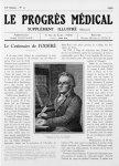 Portrait de Fodéré, par Desblancs (Gravure au burin de Goulu) - Le progrès médical