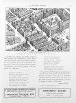 Fragment du plan Turgot (1739). Vicq-d'Azyr était logé dans le Vieux Louvre en face de la rue du Coq [...]