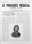 Larrey, par Girodet (Gravure de Pollet) - Le progrès médical
