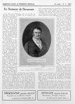 F. J. V. Broussais d'après le tableau de Ch. Duchesne, gravé par H. Bonvoisin - Le progrès médical