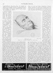 Broussais mort. Dessin de A. Gourlier. Eau-forte de Charles Blanc - Le progrès médical