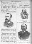 M. le Pr Brouardel / M. le Pr Pinard (de Paris) / M. le Pr Félix Terrier (de Paris) - Gazette médica [...]