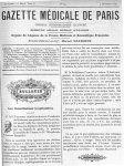 Pr Fournier - Gazette médicale de Paris : journal de médecine et des sciences accessoires
