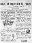 M. le Pr C. Potain / M. le Pr Charles Richet - Gazette médicale de Paris : journal de médecine et de [...]